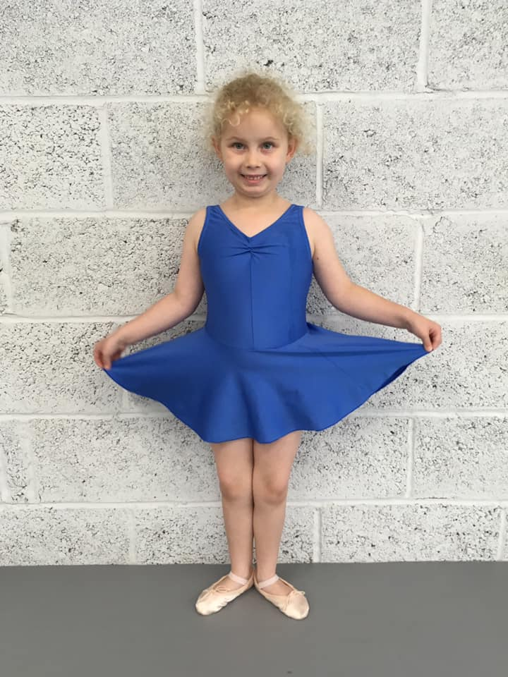 Girl in Ballet Uniform