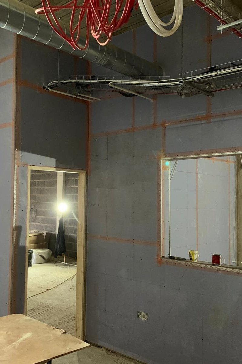 Upstairs refurbishment